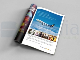 Design Print Ad / Magazine Ad and Newspaper Advertisiment