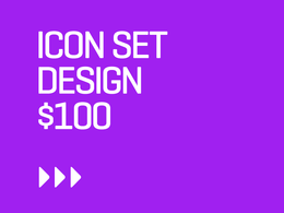 Do pixel precise icon set for your web, app or packaging purpose