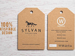 Design your 2 sided amazing print ready hang-tag professionally