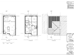 House extension drawing