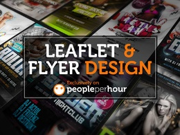 Design a flyer, leaflet, poster or a postcard with unlimited revisions