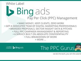 White Label Bing Ads PPC Management
