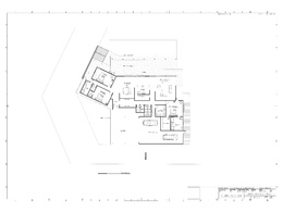 Draw a single residential building floor plan