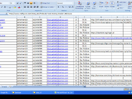 Research expert data entry work: 100-200 entries