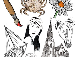 Create you a hand drawn ink illustration of any subject