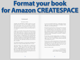 Format your book to Createspace specification ready for upload to Amazon.