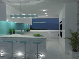 Provide  interior,garden design, model your house with high quality 3D visualisation,