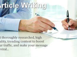 Write a well researched and interesting article of 500 words