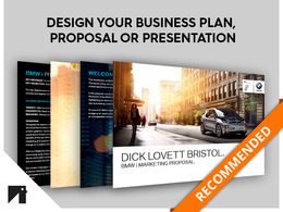 Design your Business Plan, Annual Report, Proposal or Presentation