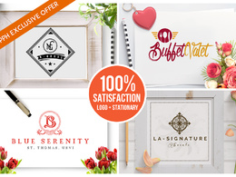 *Premium* Top Quality Logo+ Business stationary +Website Fevicon