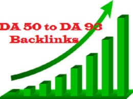 Give You 3 Dofollow BackLinks on DA 85 to DA92 Authority Sites