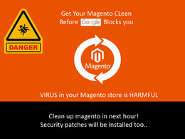 Clean malicious virus from your magento store