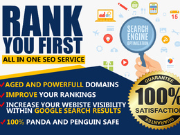 Get Google 1st page Rankings with All in One Seo Backlinks for your website