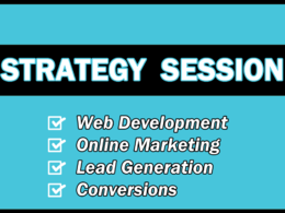 Provide a 30 minute online marketing strategy session on Skype