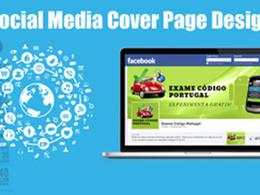 Create a killer custom Social Media cover page design