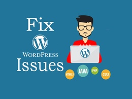 Provide one hour of updates/ customisation to your wordpress based website