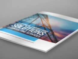 Design a professional brochure A4/A5 (UK agency)