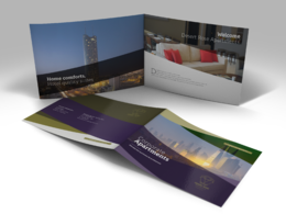 Design a professional landscape brochure / catalogue A4/A5