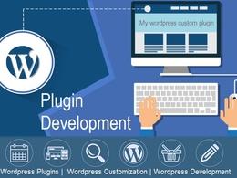 Create a Custom Wordpress Plugin Development or Customization