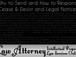 Draft Cease and Desist Letter and Legal Notice