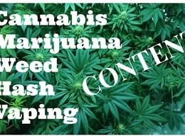 Write engaging marijuana, cannabis or vaping related content up to 500 words