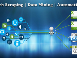 Extract data from any website through Web Scraping | Data Mining | Automation