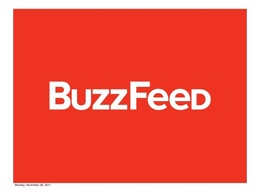 Write and publish an article on buzzfeed