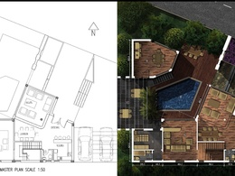 Convert your 2D autocad plans into 2D or 3D realistic Well presented plans