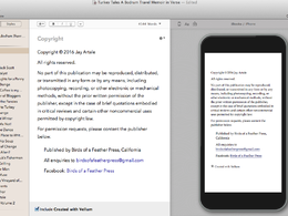 Format your ebook interior to create an error-free MOBI or ePub file