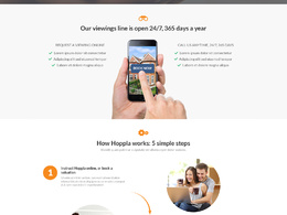 Design a mind-blowing infographic webpage / landing page