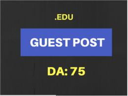 Publish a guest post on dcit.newcastle.edu.au/education DA76, TF61, PR7/10 .edu blog