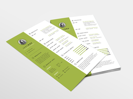 Produce a beautiful CV/resumé design