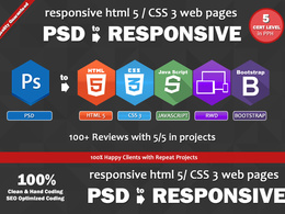 Do psd to HTML5/css3