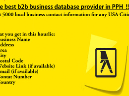 Provide you 5000 local business contact information
