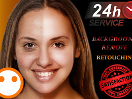 Photoshop retouch of 5 images