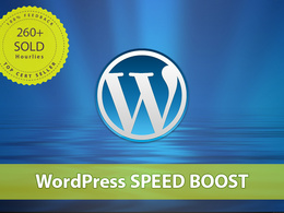 Improve your WordPress website speed with my SPEED BOOST package