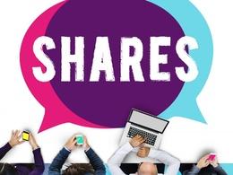 Provide social media shares 125 twitter RTs, 50 Linkedin Shares, 15 Pinterest and G+