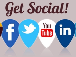 Create up to 3 social media profiles for your company