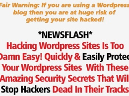 Clean malware or Virus FAST from Any Wordpress Site