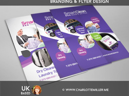 Design you a professional flyer (leaflet) double sided