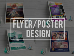 Design a perfect Flyer,Poster with unlimited revisions