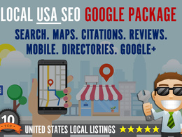USA SEO links - Complete Google LOCAL Link Building + Citations