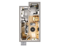 Bring your 2D floor plans to life with 3D visuals- industry pro!