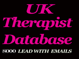 Give you 8000 UK therapist b2b contacts