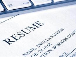 Deliver an effective Resume/CV Update