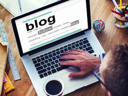 Create a months worth of blog content- 4 x valuable blog posts