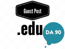 Publish edu guest post on edu blog with DA 90