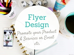 Design a professional Flyer or Leaflet with unlimited revisions