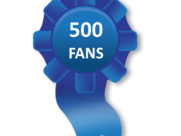 Provide 500 stable fans for your page manually