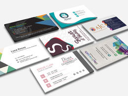 Design double sided business card professional - with unlimited revisions